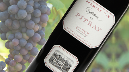 CHATEAU DE PITRAY 2015<br>FRANCE - Vintages #: 405688