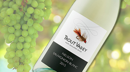 TROUT VALLEY SAUVIGNON BLANC 2015<br>NEW ZEALAND – Vintages #60046