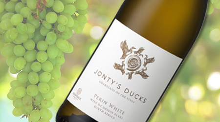 JONTY'S DUCKS PEKIN WHITE 2015<br>SOUTH AFRICA - Vintages #: 439554