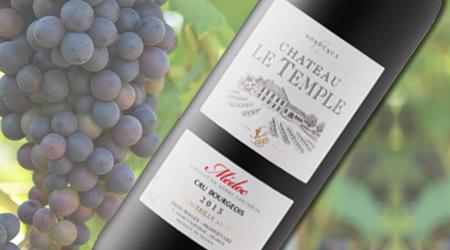 CH LE TEMPLE AOC MEDOC 2015<br>FRANCE - Vintages #550327