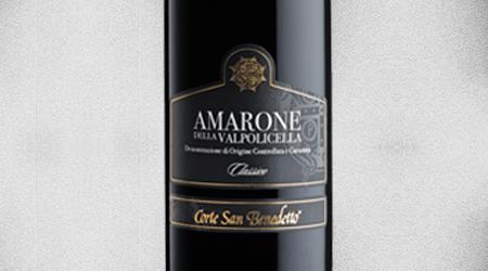 """<font size=""""3.5"""">CORTE SAN BENEDETTO<br>AMARONE VALPOLICELLA CLASSICO 2012<br>VENETO, ITALY</font>"""
